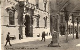 BOLOGNA    Via Mazzini  .....  Palazzo Fava - Bologna
