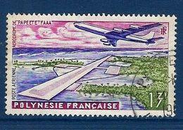 """Polynésie Aerien YT 5 (PA) """" Aéroport De Faaa """" 1960 Oblitéré - Poste Aérienne"""
