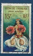 """Polynésie Aerien YT 7 (PA) """" Danseuse Tahitienne """" 1964 Oblitéré - Poste Aérienne"""