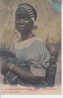 Afrique Occidentale - SENEGAL - DAKAR - Femme Volof Et Son Fils - Senegal