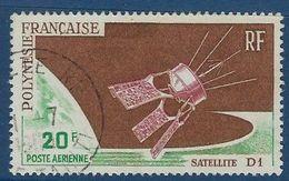 """Polynésie Aerien YT 19 (PA) """" Satellite D1 """" 1966 Oblitéré - Poste Aérienne"""