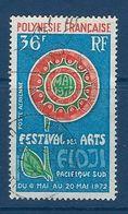 """Polynésie Aerien YT 63 (PA) """" Festival Des Arts """" 1972 Oblitéré - Poste Aérienne"""