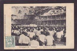 CPA Océanie Campagne Du Kersaint Annexion Des Iles Wallis Circulé - Wallis And Futuna