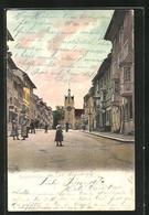 AK Diessenhofen, Strasse Zum Siegelturm Mit Wohnhäusern - TG Thurgovie