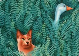 CPM - CHAT - Illustration A.DELCOIGNE - Edition Corna .. - Cats