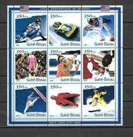 Olympische Spelen  2002 , Guinee Bissau - Blok  Postfris - Winter 2002: Salt Lake City