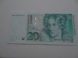 20 DM 1993 - 10 Deutsche Mark