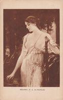 Cartolina - Postcard /  Viaggiata - Sent / Melodia - Von Kaulbacck - Malerei & Gemälde