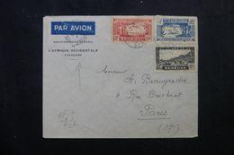 SÉNÉGAL - Enveloppe Du Gouvernement Général Pour Paris En 1939,  Affranchissement Plaisant - L 63447 - Sénégal (1887-1944)