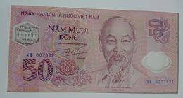 Polymer Folder - Vietnam 50 Dong 2001 - Viêt-Nam