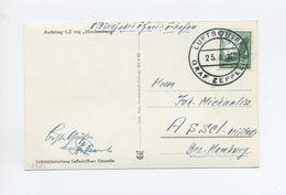 1936 Dt. Reich Zeppelin LZ 127 Überführungsfahrt Auf Zeppelinkarte Per Bordpost Si 0364 I Besatzungspost Karl Beuerle - Covers & Documents