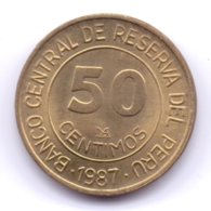 PERU 1987: 50 Centimos, KM 295 - Pérou