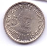 PERU 1987: 5 Intis, KM 300 - Pérou