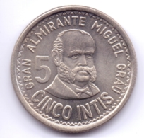 PERU 1986: 5 Intis, KM 300 - Pérou