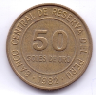 PERU 1982: 50 Soles De Oro, KM 273 - Pérou