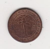 CEYLAN 1 CENT 1870 VICTORIA CUIVRE - Sri Lanka (Ceylon)