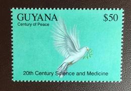 Guyana 1993 Century Of Peace Dove Birds MNH - Zonder Classificatie