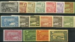 Guadeloupe (1905) N 55 à 71 * (charniere) - Ongebruikt