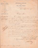 1848 - L.S. Le Représentant Du Peuple, Préfet De Police Au Cen Maire De ROZOY (77) Condamnation Pour MENDICITÉ - Documents Historiques