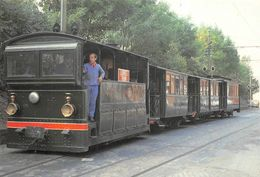 Lobbes Tramway Tram Train Ligne Mons Chimay - Lobbes