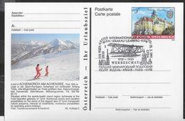 "AUSTRIA - ANNULLO SPECIALE ""WIEN-KRAKAU-LEMBERG-KIEW 1918-1993"" 31.3.1993- SU CARTOLINA POSTALE (MICHEL P504) - 1991-00 Covers"
