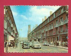 C.P. Calais =  Rue  Royale Et  La Tour Du Guet - Calais