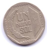 PERU 1991: 1 Nuevo Sol, KM 308 - Pérou