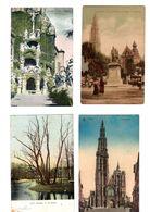 Antwerpen - 4 Kaarten - Oudste 1907 Verzonden - Antwerpen
