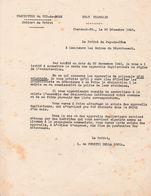 1940 VICHY ETAT FRANÇAIS - Régularisation Et Interdiction Des APPAREILS DUPLICATEURS (pour Empêcher LES TRACTS) - Documents Historiques