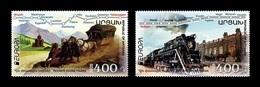 Armenia (Nagorno-Karabakh) 2020 Mih. 220/21 Europa. Ancient Postal Routes MNH ** - Arménie