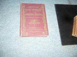 ( Napoléon Empire )  Blaze  Souvenirs D'un Officier De La Grande Armée - Libri, Riviste, Fumetti