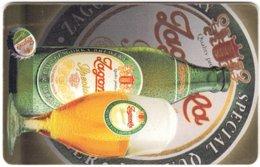 BULGARIA A-818 Chip BulFon - Advertising, Drink, Beer - Used - Bulgarie