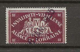 FISCAUX  FRANCE SOCIO-POSTAUX D'ALSACE LORAINNE N°102 68F90 BRUN - Revenue Stamps