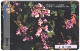 BULGARIA A-846 Chip BulFon - Plant, Flower - Used - Bulgarie