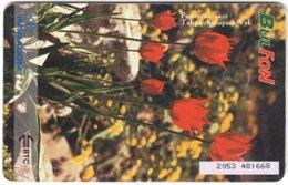 BULGARIA A-851 Chip BulFon - Plant, Flower - Used - Bulgarie