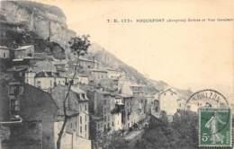 AVEYRON  12  ROQUEFORT   ENTREE ET VUE GENERALE - Roquefort