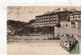 NAPOLI (NAPLES) HOTEL BRISTOL AL CORSO (CARTE PRECURSEUR ) - Napoli (Naples)
