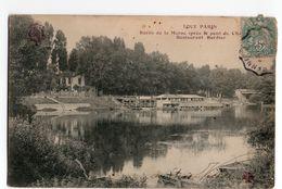 CHAMPIGNY SUR MARNE * BORDS DE MARNE * RESTAURANT BORDIER * TOUT PARIS - Champigny Sur Marne