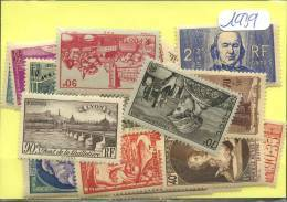 France  Années Completes Neuves ** Luxe 1939 (32 Timbres) - ....-1939