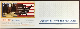 United States 1983 Pride Insurance Birds Company Mail Airletter Unused - Special Delivery, Registration & Certified