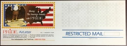 United States 1983 Pride Insurance Birds Restricted Mail Airletter Unused - Special Delivery, Registration & Certified