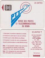 5/ Benin; P1. PTT Logo, 25 Ut.,SC5 Afnor, CN C3A000569 - Bénin