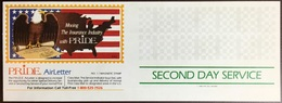 United States 1983 Pride Insurance Birds Second Day Service Airletter Unused - Special Delivery, Registration & Certified
