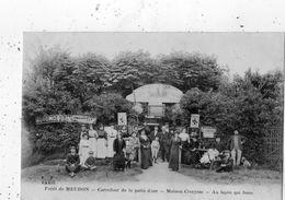 FORET DE MEUDON CARREFOUR DE LA PATTE D'OIE MAISON CIVEYRAC AU LAPIN QUI FUME - Meudon