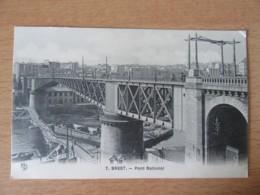 Brest N°7 - Pont National - Carte Non-circulée - Brest