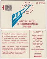 7/ Benin; P1. PTT Logo, 25 Ut.,SC7 Afnor, CN C32141061 - Bénin