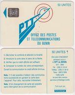 8/ Benin; P2. PTT Logo, 50 Ut.,SC5 Afnor, CN C49100939 - Bénin