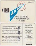 9/ Benin; P9. PTT Logo, 100 Ut.,SC7, CN C55150340 - Bénin
