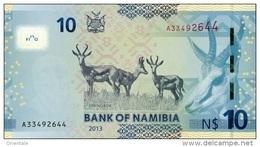 NAMIBIA P. 11b 10 D 2013 UNC - Namibia