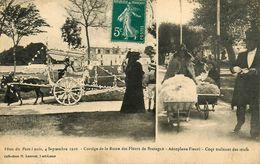 Port Louis * Fêtes Du 4 Septembre 1910 * Cortège De La Reine Des Fleurs De Bretagne * Aéroplane Fleuri - Port Louis